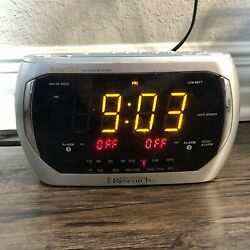 "Emerson Research CKS3020 Smart Set Auto Set ""Dual Alarm"" LED Clock Radio"