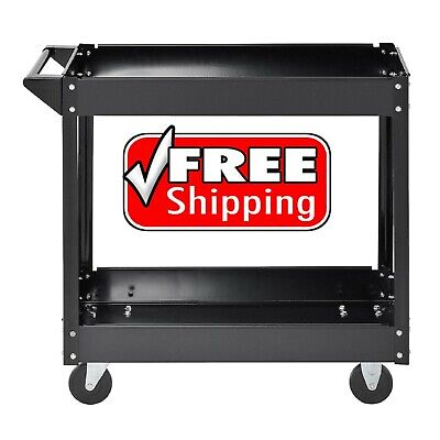 Muscle Carts Steel Industrial Commercial Service Cart- Free Shipping - Brand New