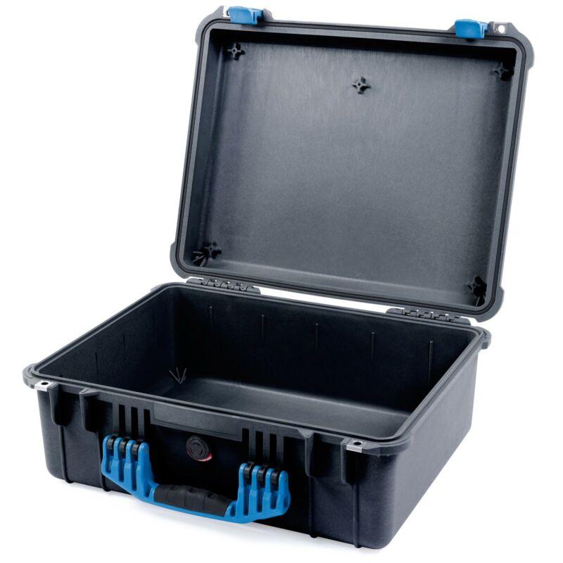 Pelican Black & Blue 1550 case  -  Empty