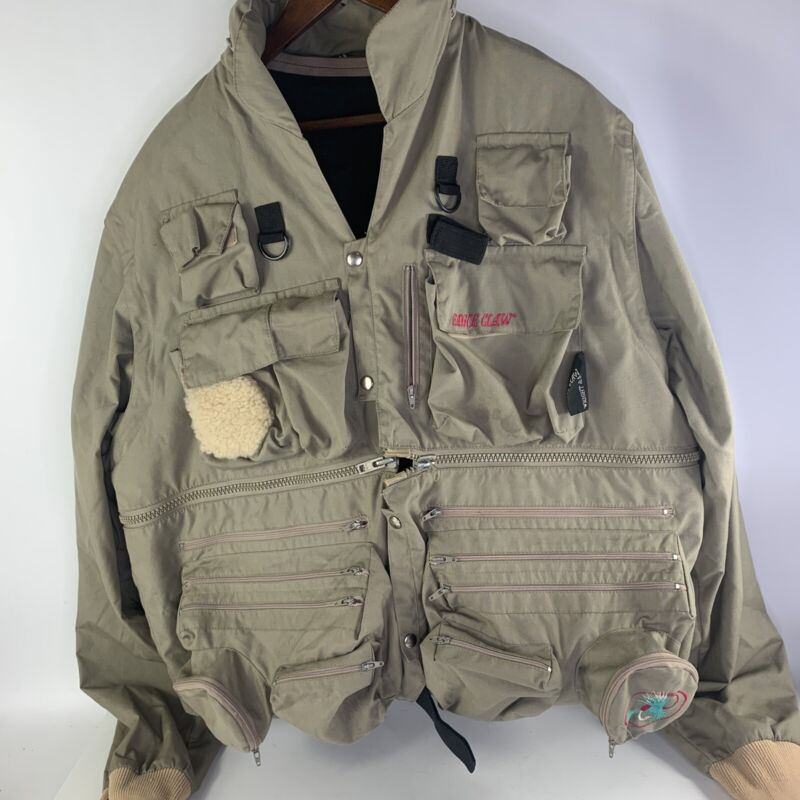 Eagle Claw XXL Dry Fly Fishing Convertible Vest Jacket w/liner/hood - WRIGHT & M