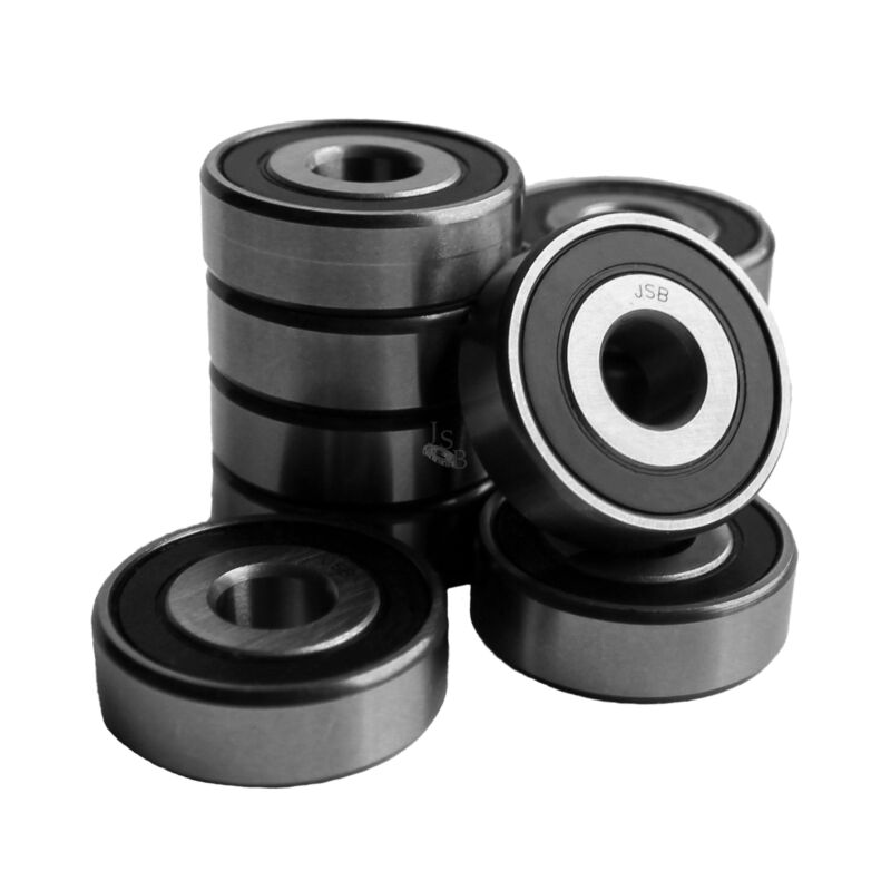 "(Qty. 10) R12-2RS High Quality Two Side Seal Ball Bearings 3/4""x1-5/8""x7/16"""