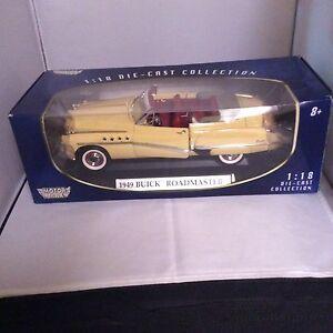Die Cast 1949 Buick Roadmaster Convertible
