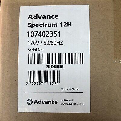 Advance Spectrum 12h Single Motor Commercial Upright Vacuum12 Inch Model Gu12smu