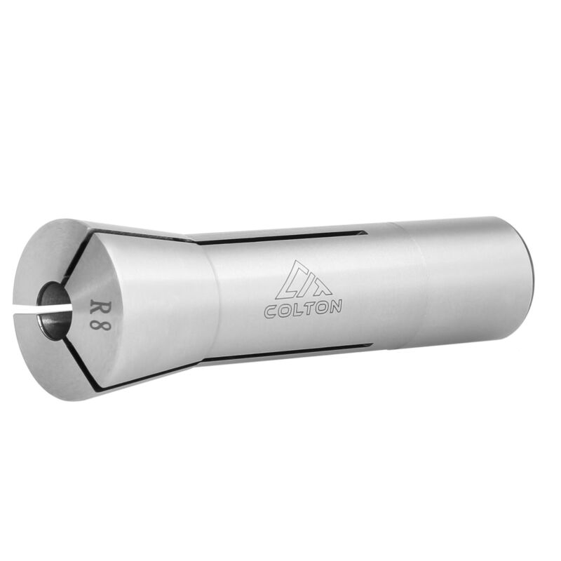 """Colton Industrial Tools 5/8"""" Ultra Precision R8 Round Collet 0.0005""""Accuracy"""
