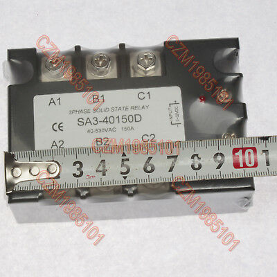 Three Phase Solid State Relay Sa3-40150d Ac Ssr 3-32vdc40-530vac 150a Turn-on