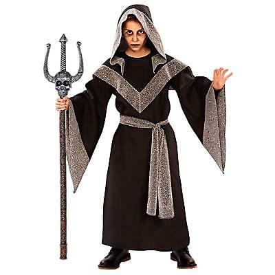 eister Gr. 122/134 Teufelsstab Zepter Jungen Kostüm (Teufel Junge Kostüm)