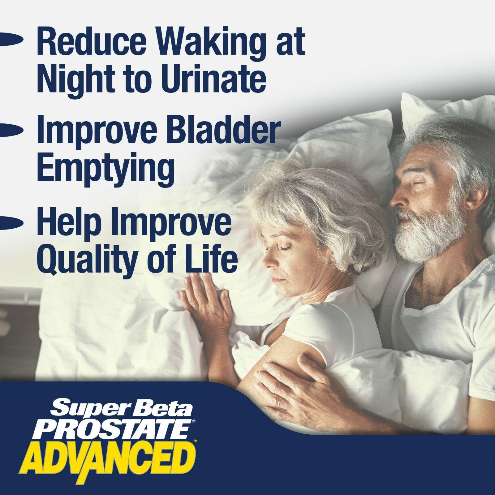 Super Beta Prostate Advanced - Prostate Supplement - Brand New - Free S&H 3