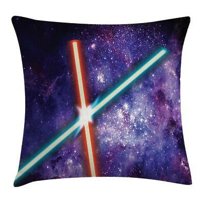 Galaxy Throw Pillow Cases Cushion Covers Ambesonne Home Deco