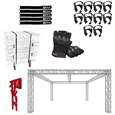 Global Truss 20x20 Center Beam Trade Show Booth With Accessories