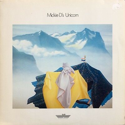 Mickie D's Unicorn 1979 Innovative Communication Synth Electro Klaus Schulze LP