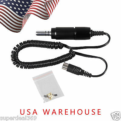 USA E-Type Electric Micromotor 35K RPM Marathon Handpiece Dental Lab B