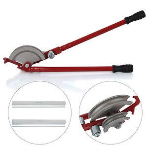New Heavy Duty 15/22mm Pipe Bender Plumbers Tool Handheld Bend Tube Machine UK