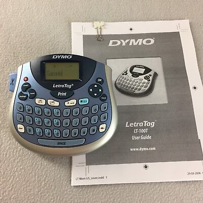 Dymo Letratag Lt-100t Thermal Printer Label Maker