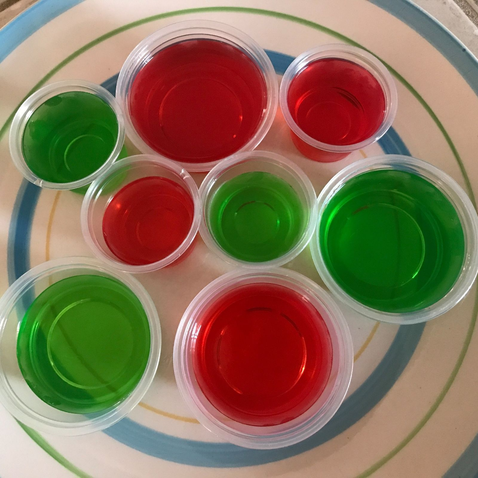 1oz~2oz~4oz Large Clear Jello Jelly Shot Souffle Portion Cup
