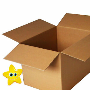20 x LARGE Cardboard Storage Packing Boxes 24x18x18
