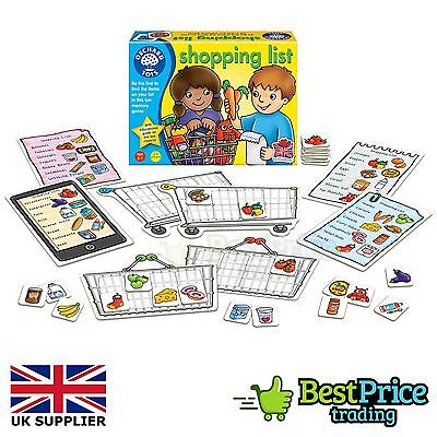 Orchard Toys Shopping List Baby Toddler Child Memory Educational Game *BRAND NEW
