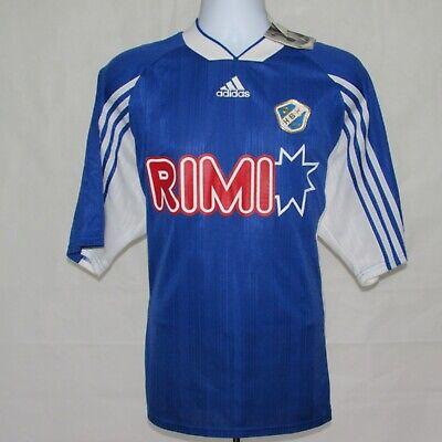 1998 Halmstads BK Home Football Shirt, Adidas, Rare, Vintage, Sweden, XL, W/TAGS image