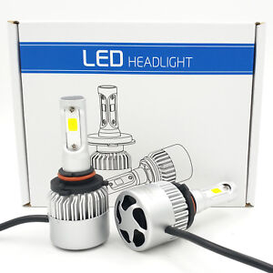 1500W 225000LM LED 9005 HB3 9145 H10 Fog Lights Kit Bulbs White 6000K High Power