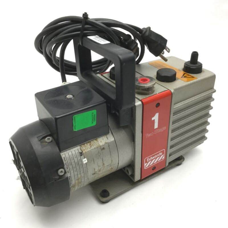 Edwards High Vacuum MD56LX2-A Vacuum Pump Two Stage, 110-120LV, 50-60HZ, IP 54