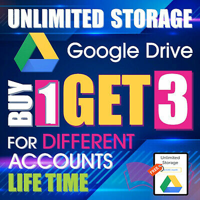 3 UNLIMITED GOOGLE Team DRIVE FOR YOUR EXISTING ACC Buy 1 ( LIFETIME ) ✅Premium
