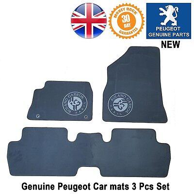 Genuine Peugeot MK1 3008 Tailored Carpet Mats 9663C9 Front /& Rear