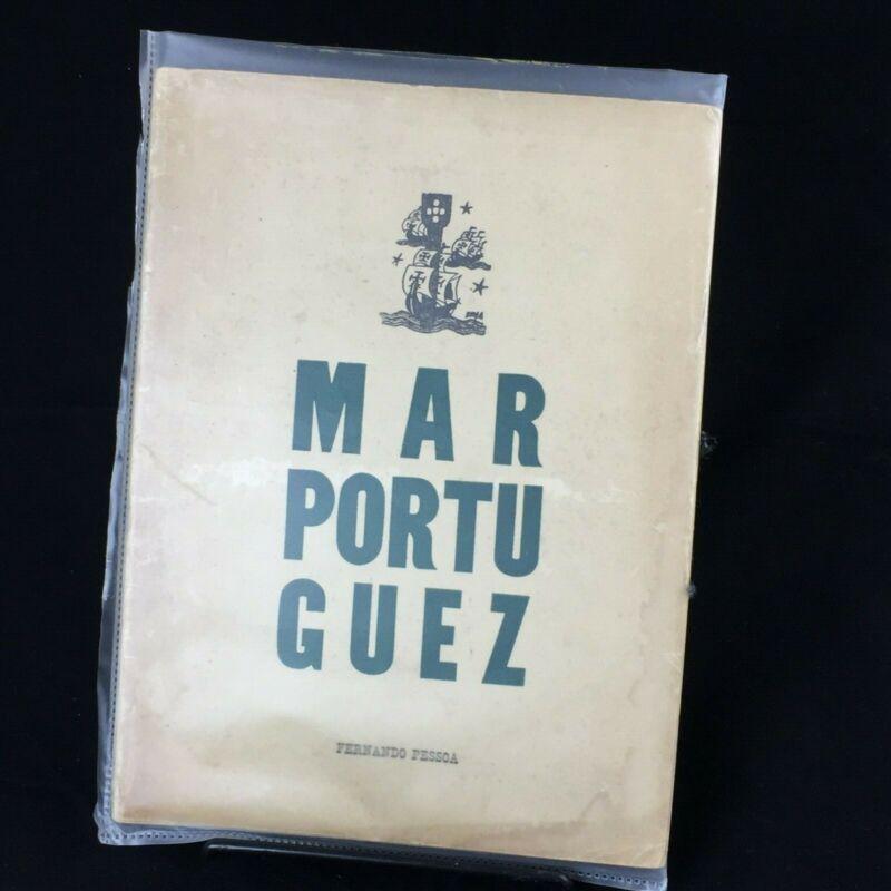 2 Rare Antique Fernando Pessoa Books/Manuscripts