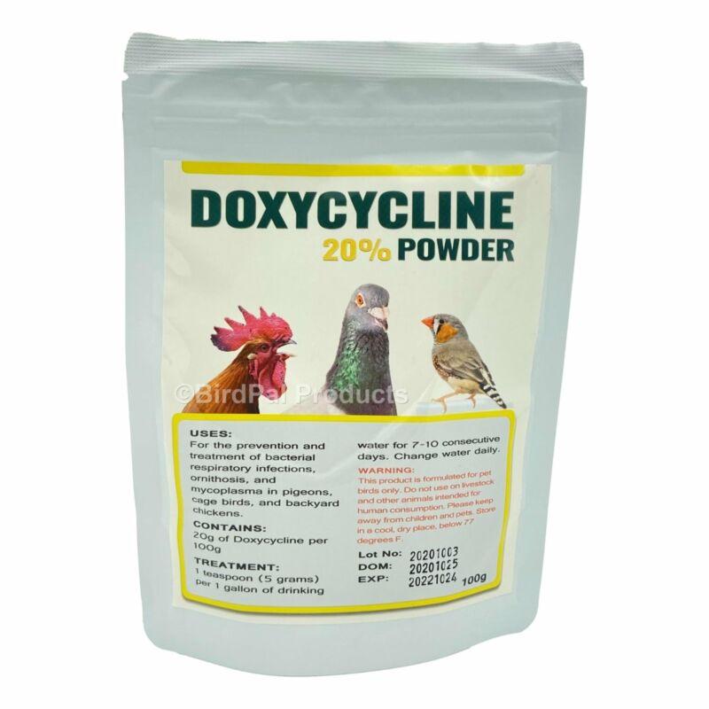 Doxycyclin Powder for Birds 100 g