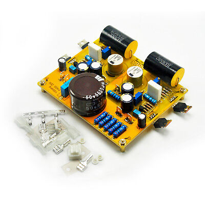 PASS ZEN IRF610 Dual Channel Stereo Audio  Preamp Preamplifier Bare PCB Board