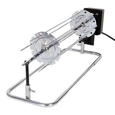 Roast Chicken - Electric BBQ Rotisserie For Barbecue Roast Chicken Grill, Kebab Attachment