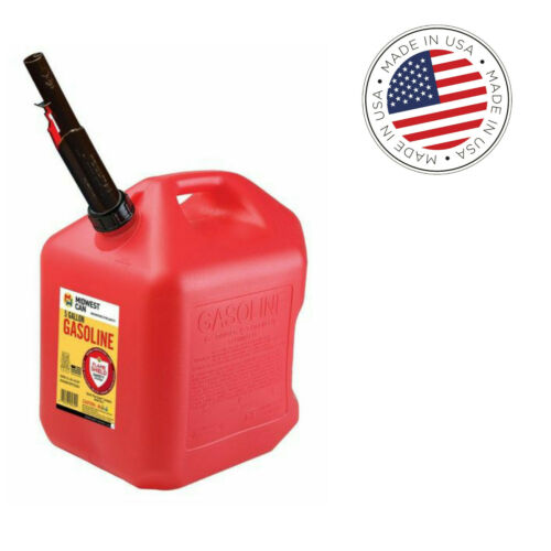 Midwest Gas Can, Red, 5 Gallon