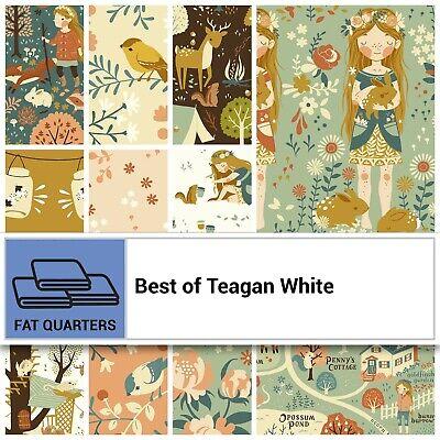 Birch Best of Teagan Treehouses 10 pc Fat Quarter Bundle Organic Cotton Poplin