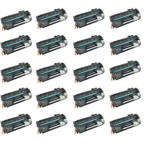 20pk Ce505a Toner For Hp Laserjet P2030/p2035/p2035d/p205...