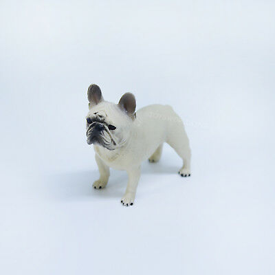 """1/6 Scale French Bulldog Dog Model Figurine Toy For 12""""in Action Figure Doll"""