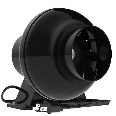 - VIVOSUN 4 Inch 195 CFM Inline Duct Ventilation Fan Vent Blower for Grow Tent