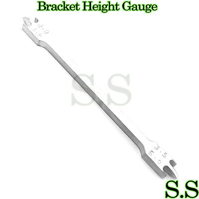New Bracket Height Gauge 3.5mm-5mm022 Dental Orthodontic Instruments.