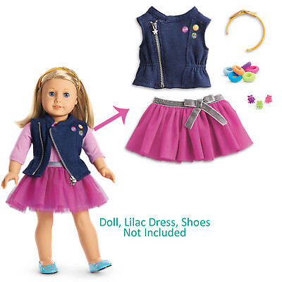 "American Girl TRULY ME LOVE TO LAYER ACCESSORIES for 18"" Dolls Clothes Clips NEW"
