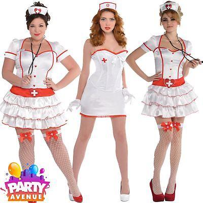 Doctors and Nurses Fancy Dress Womens A&E Costumes Accessories Lot