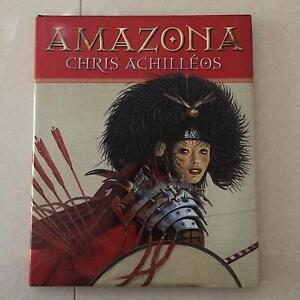 Amazona by Chris Achilleos. Hardcover. 1st Ed. fantasy art Taringa Brisbane South West Preview