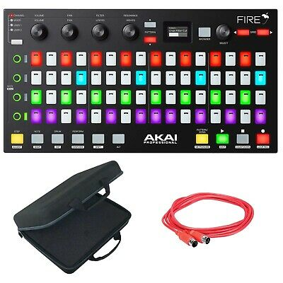 Akai Professional Fire FL Studio Controller Fruity Edition Software+Case+Cable