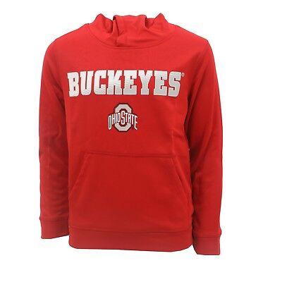 NWT Boys Ohio State Long Sleeve Layered Look Shirt Athletics Buckeyes