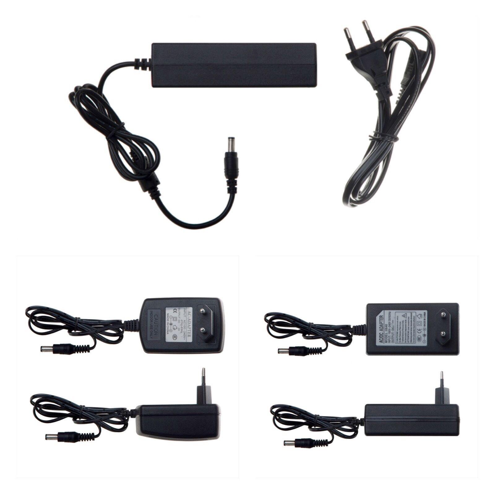 12V AC AC Netzteil WECHSELSPANNUNG✔ 500mA 1000mA 5,5mm Stecker