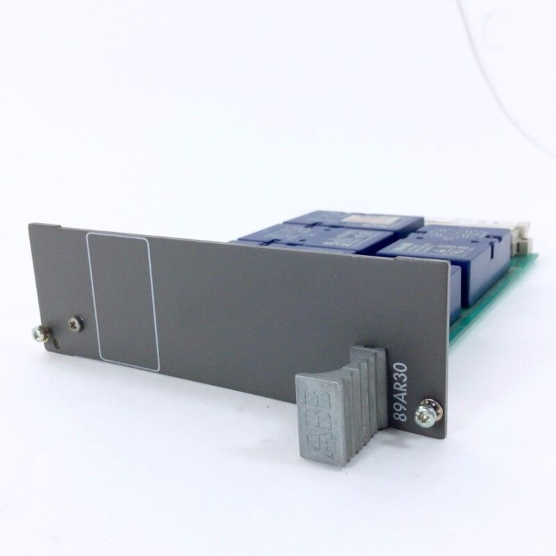 Abb 89Ar30 Weisz Relay Control Unit - Pcb Circuit Board - Used