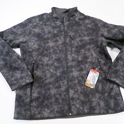 $149 Men's The North Face Apex Bionic Jacket Grey Print XL NWT