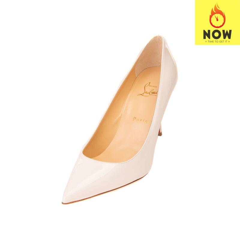 RRP €515 CHRISTIAN LOUBOUTIN DECOLTISH Leather Court Shoes / Pumps EU39 UK6 US9