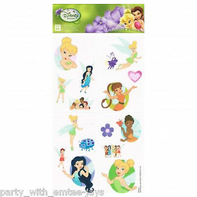 Tinker Bell Tattoos - Tinkerbell Birthday Supplies Party Favours Ideas - Fairy