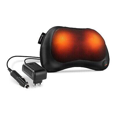 Massagekissen Shiatsu Schulter Massagegerät Rücken Nacken Wärmefunktion Auto