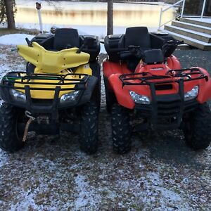 HONDA ATV PACKAGE with TRAILER