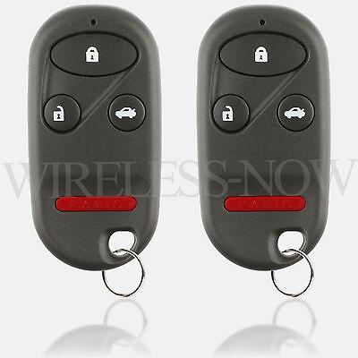 2 Car Key Fob Keyless Entry Remote Control For 2002 2003 2004 Honda CR-V CRV