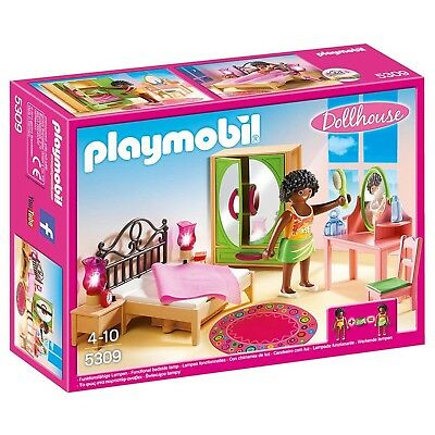 Playmobil Dollhouse Master Bedroom Building Set 5309 NEW Toys Kids
