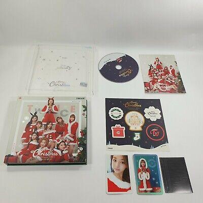 TWICE 3rd Mini album TWICEcoaster : LANE 1 Christmas Edition CD Photocard KPOP a